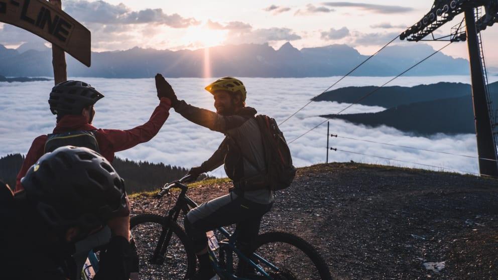 E-Bike Urlaub mit 3 geführten Touren und 5 Tagen E-Mountainbike