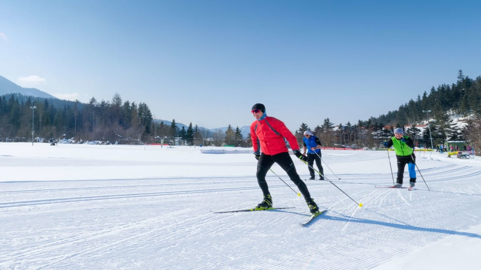 cross-country skiing for 2