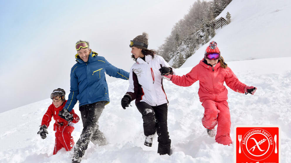 SKI: THE RIGHT SPORT FOR THE WHOLE FAMILY