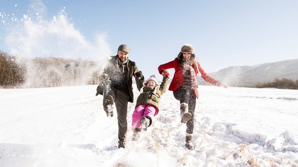 SNOW FUN WITH YOUR FAMILY