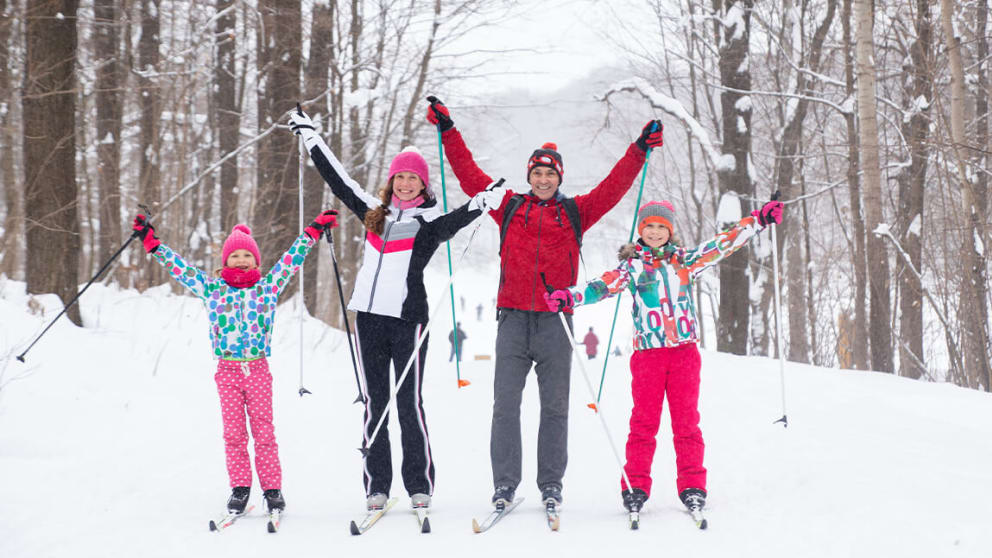 CROSS COUNTRY SKI FOR KIDS & ADULTS