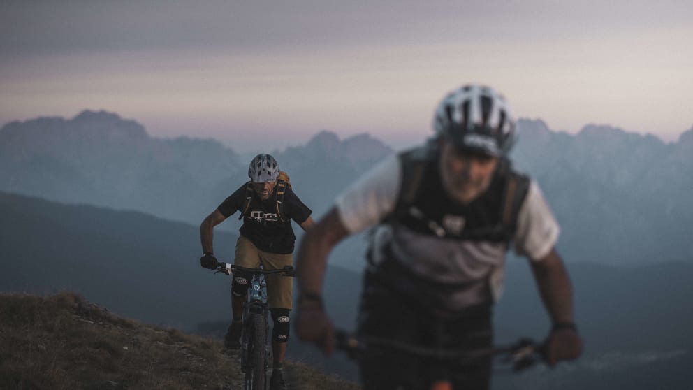 ON THE PATHS OF THE BORDER CROSSERS. MTB. TRAILS. SESTO DOLOMITES