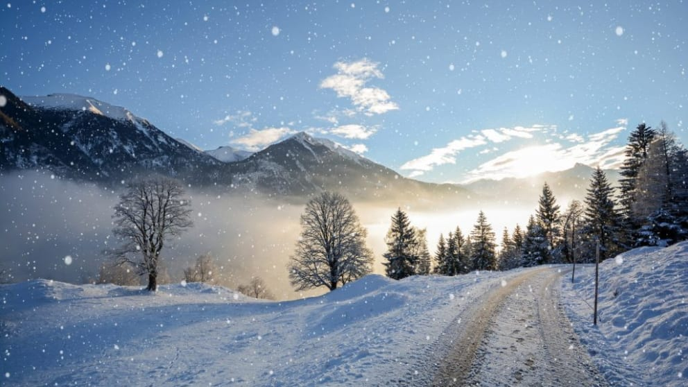 Winter wellness hiking package