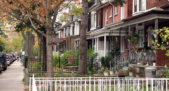 Montreal residential neighbourhood