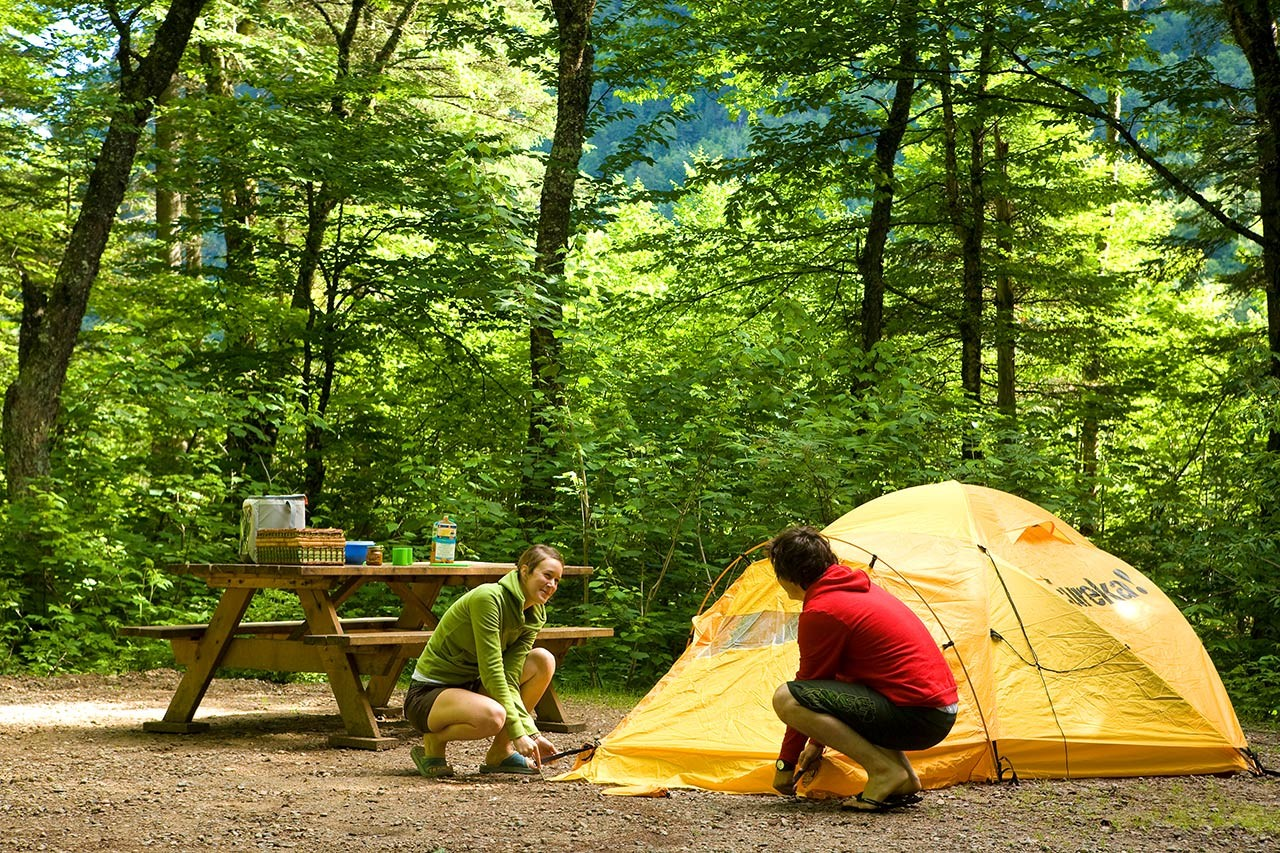 camping in mont-tremblant