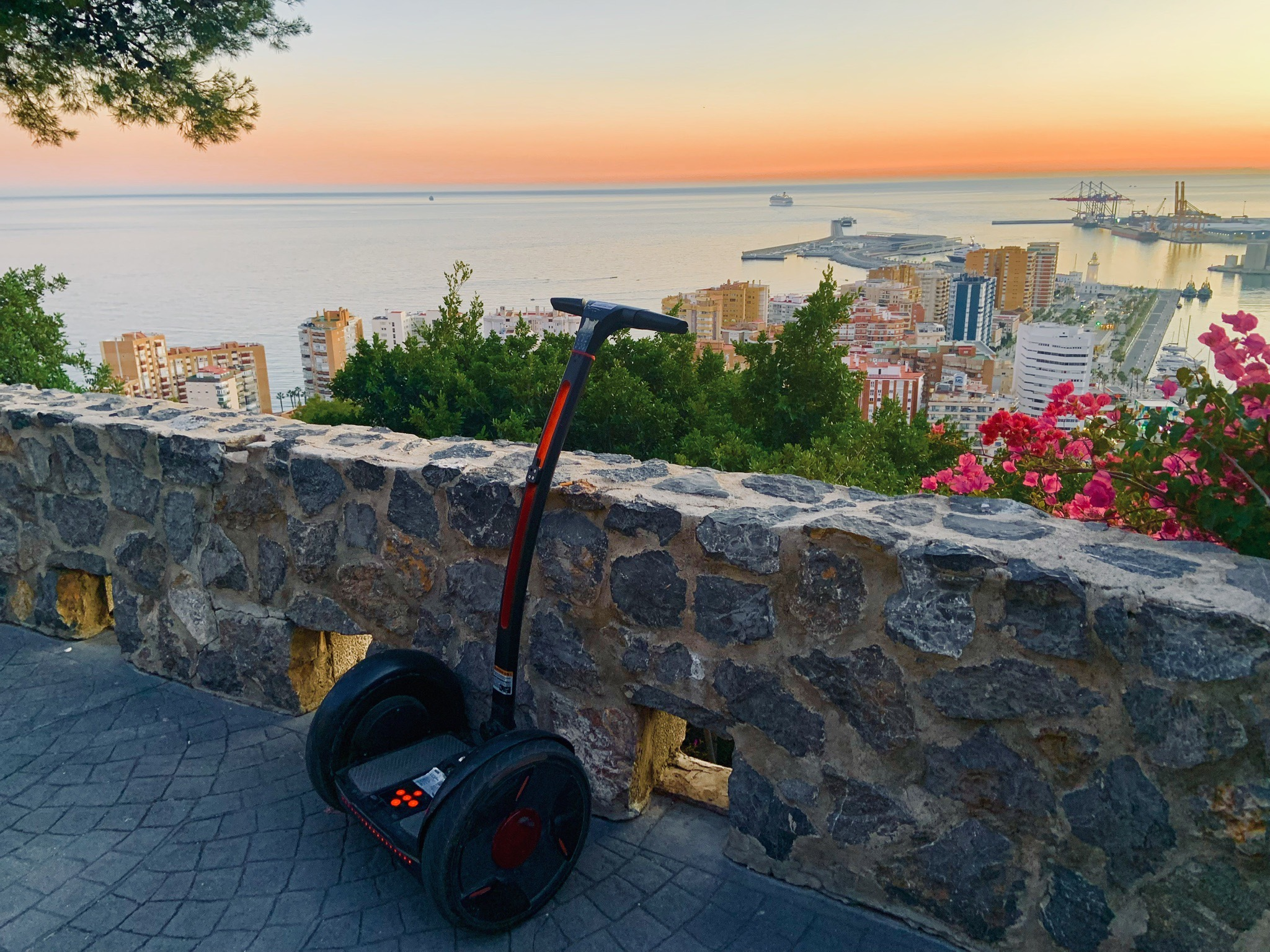 Picture of segway tours in Malaga