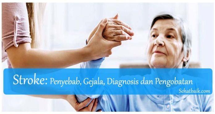 Stroke: Penyebab, Gejala, Diagnosis dan Pengobatan