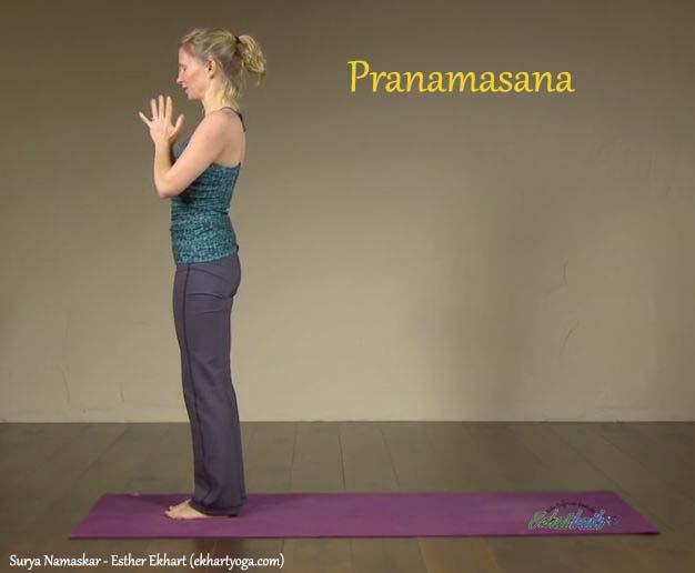 Pranamasana (Pose Doa) - Surya Namaskar