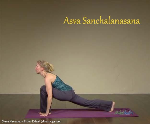 Asva Sanchalanasana 4 - Surya Namaskar