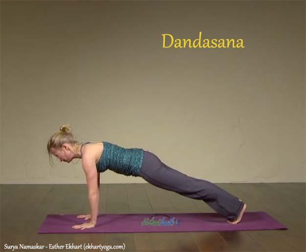 Dandasana - Surya Namaskar
