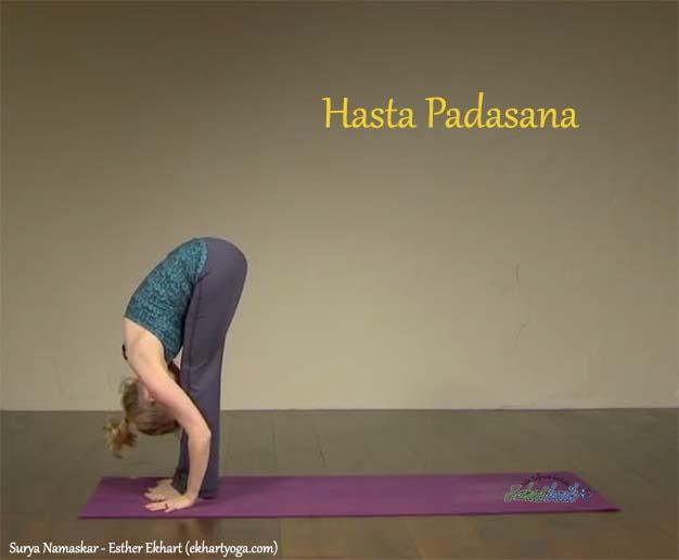 Hasta Padasana - Surya Namaskar