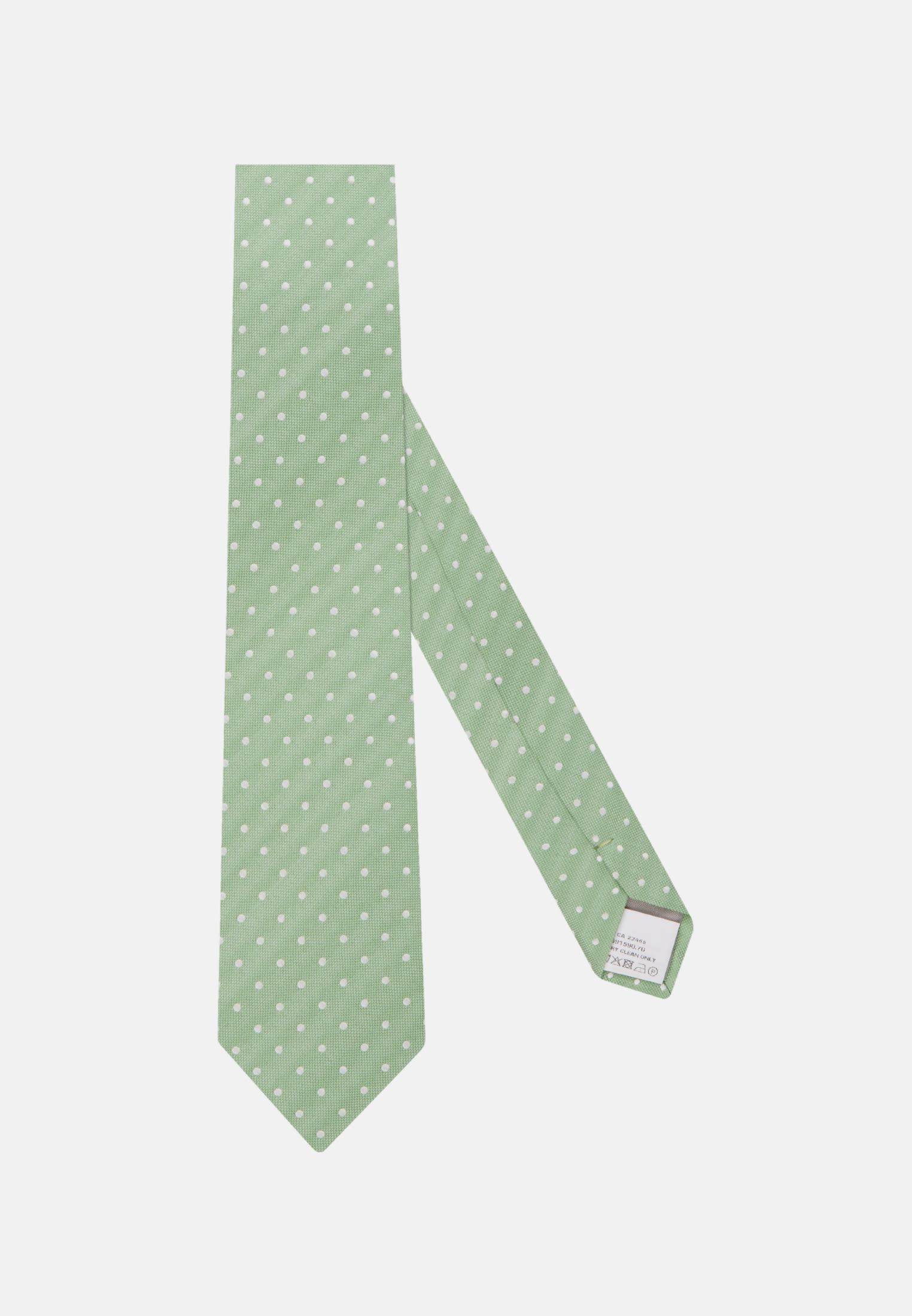 Krawatte aus 100% Seide 7 cm Breit in Grün |  Jacques Britt Onlineshop