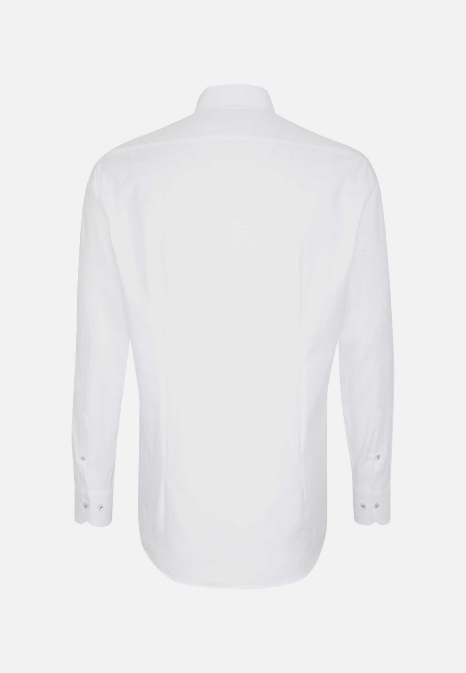 Oxford Business Hemd in Slim Fit mit Under-Button-Down-Kragen in Weiß |  Jacques Britt Onlineshop