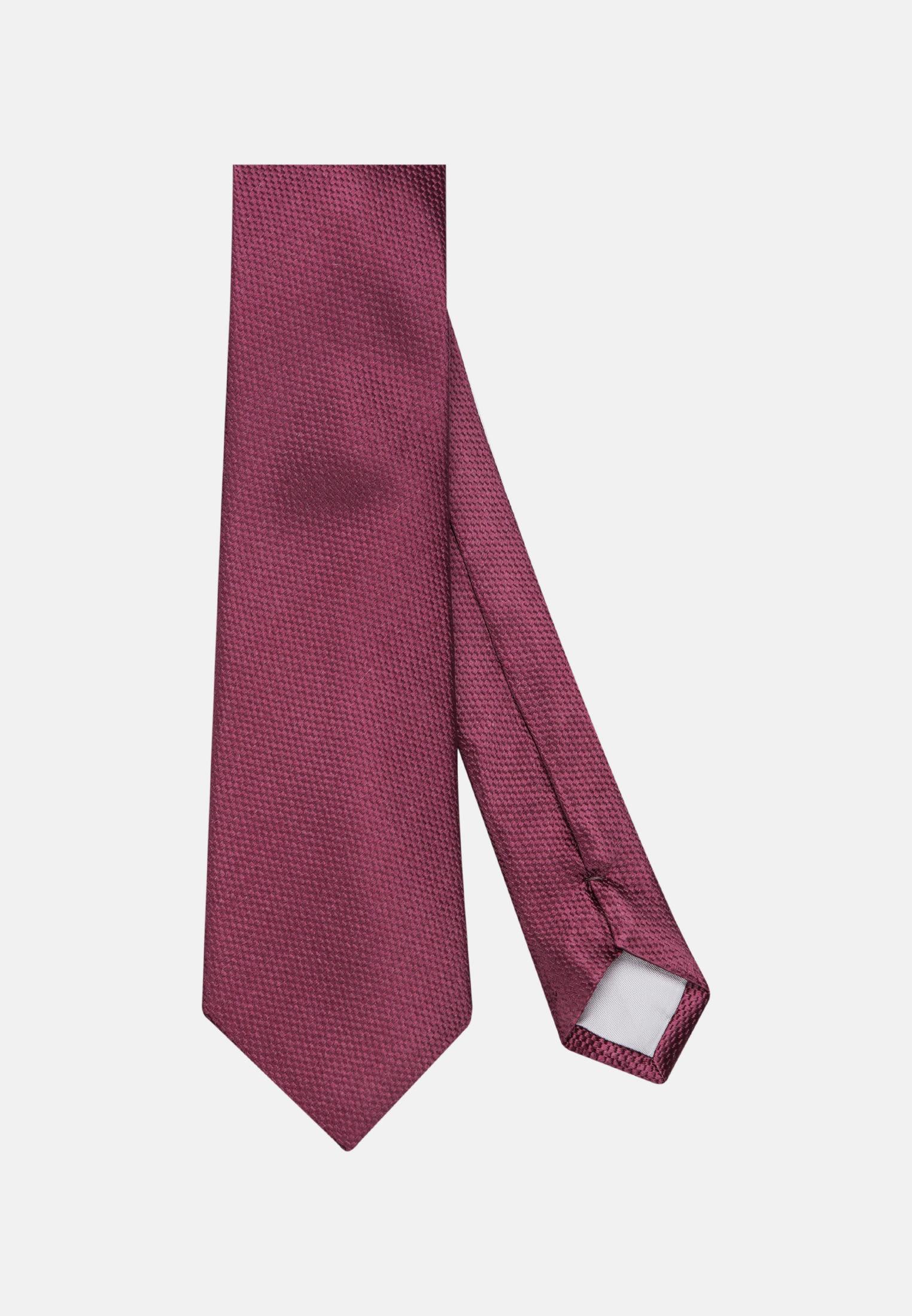Krawatte aus 100% Seide 7 cm Breit in Rot    Jacques Britt Onlineshop