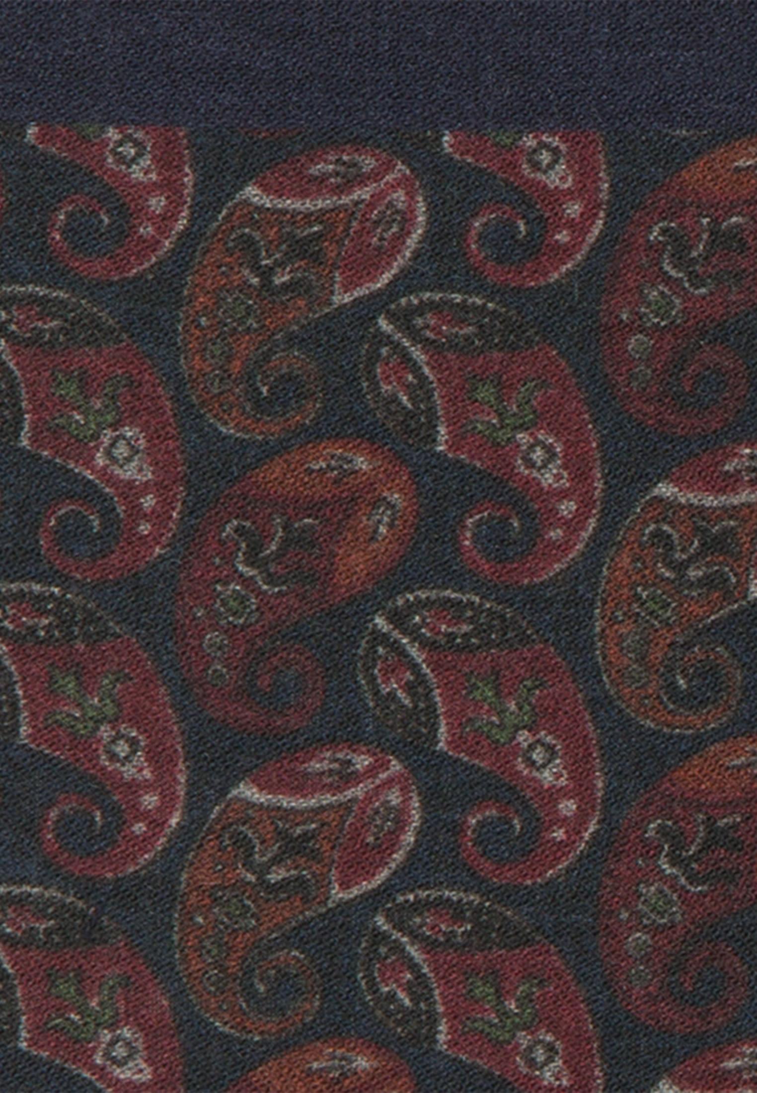 Einstecktuch aus 100% Wolle in Rot    Jacques Britt Onlineshop