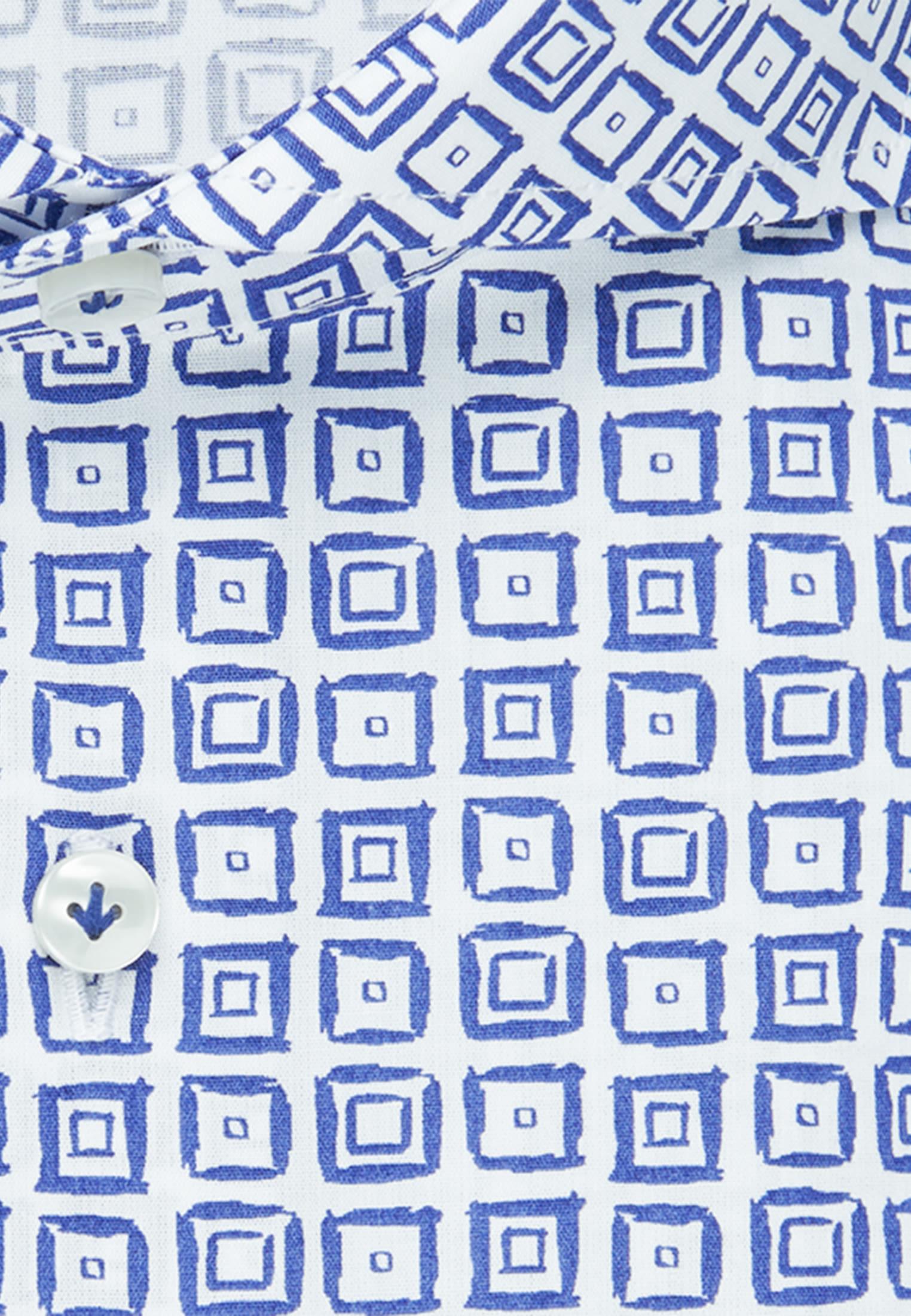 Popeline Business Hemd in Slim Fit mit Haifischkragen in Hellblau |  Jacques Britt Onlineshop