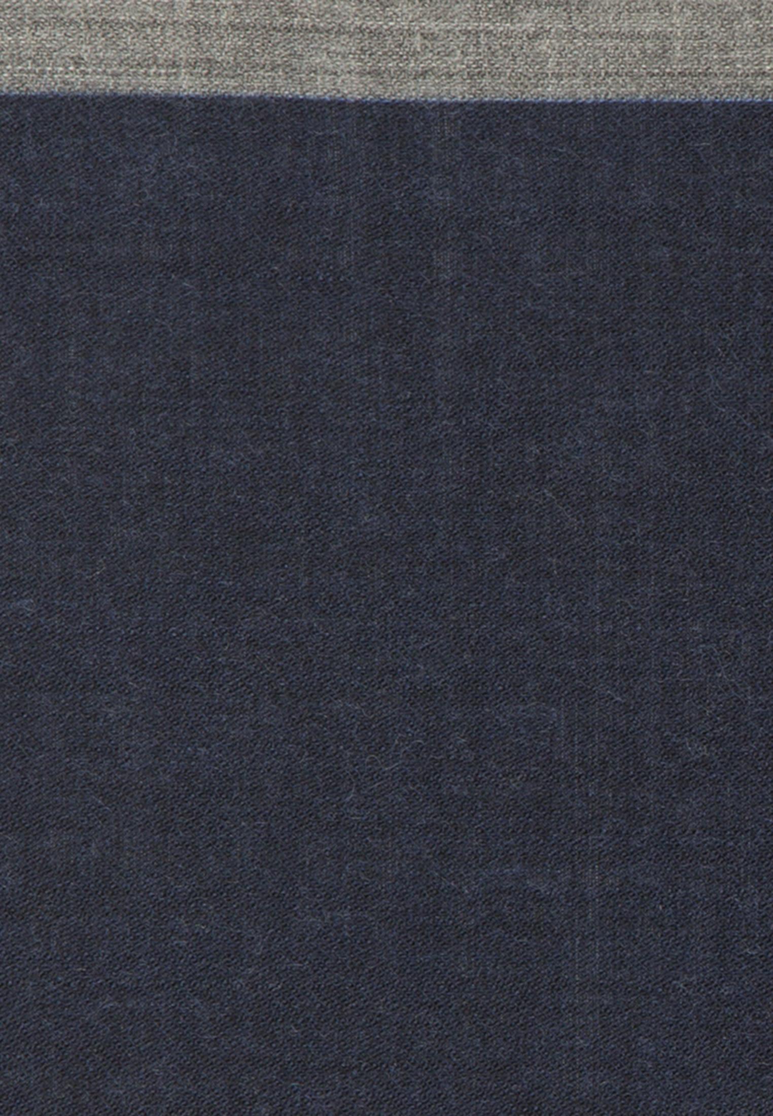 Einstecktuch aus 100% Wolle in Dunkelblau |  Jacques Britt Onlineshop