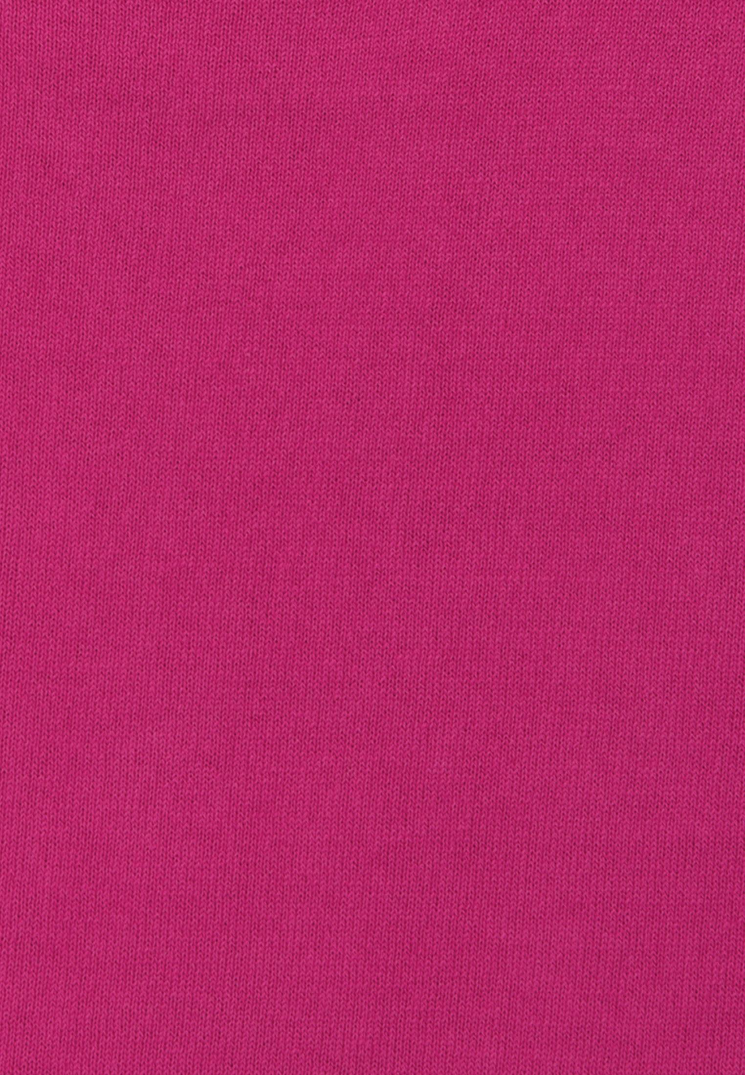 Rundhals Pullover aus 100% Baumwolle in Rosa/Pink |  Jacques Britt Onlineshop