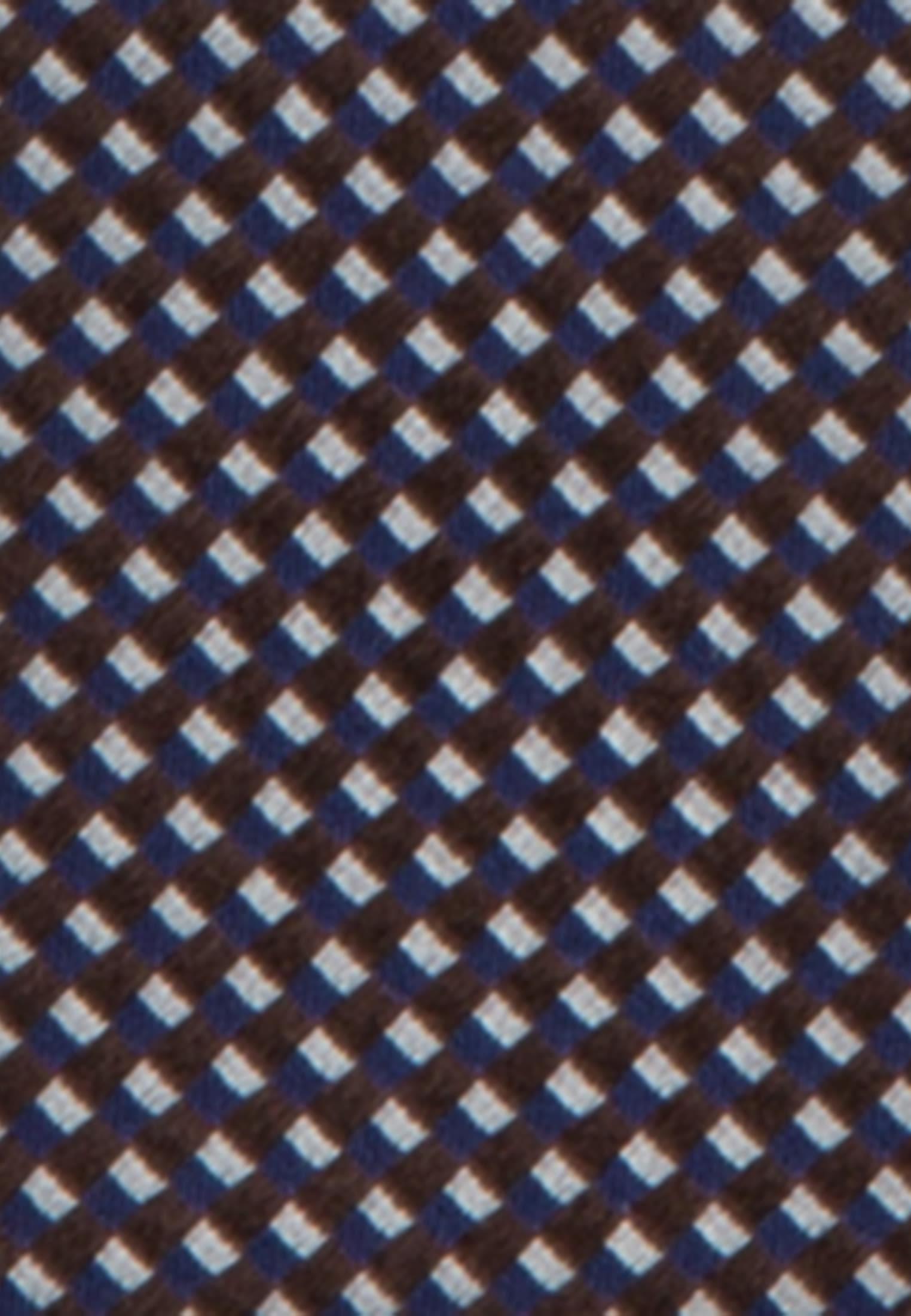 Krawatte aus 100% Seide 7 cm Breit in Braun    Jacques Britt Onlineshop