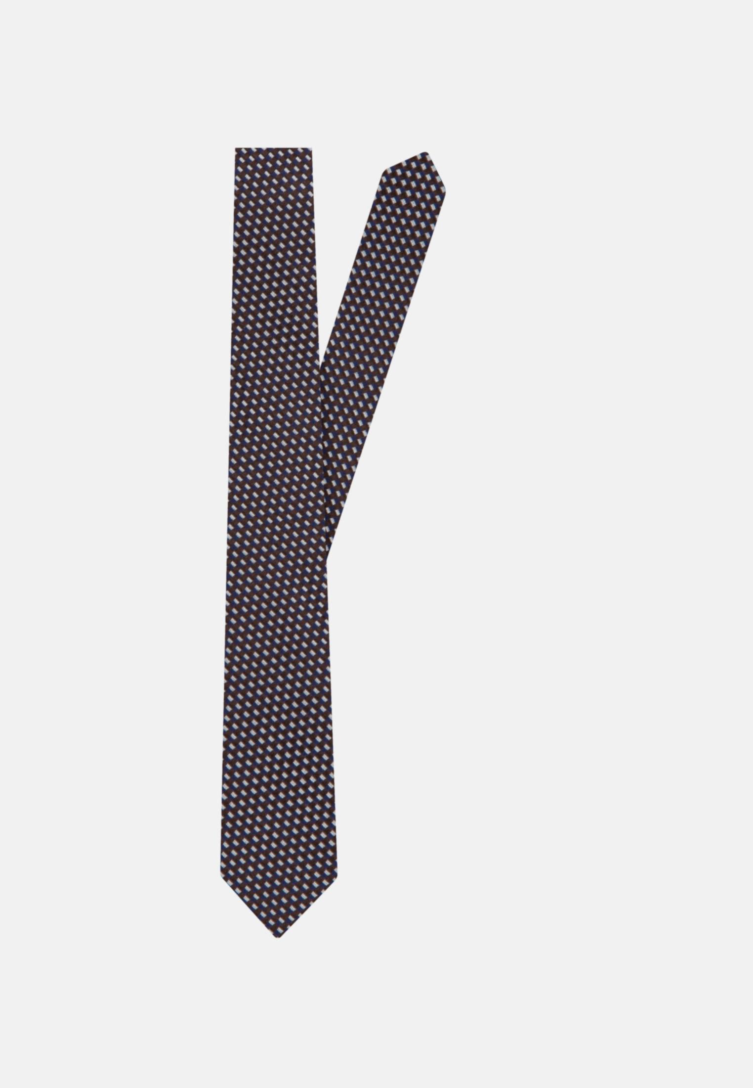 Krawatte aus 100% Seide 7 cm Breit in Braun |  Jacques Britt Onlineshop