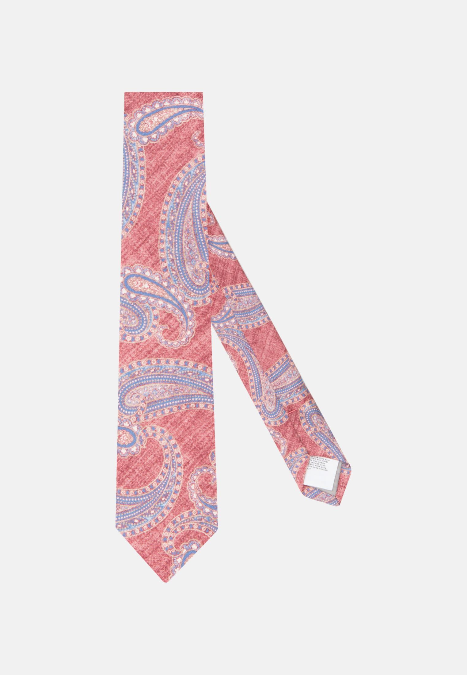 Krawatte aus 100% Seide 7 cm Breit in Rot |  Jacques Britt Onlineshop