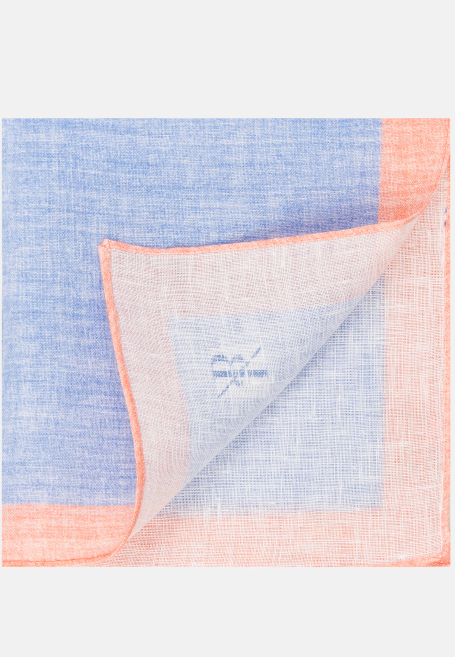 Einstecktuch aus 100% Leinen in Hellblau    Jacques Britt Onlineshop