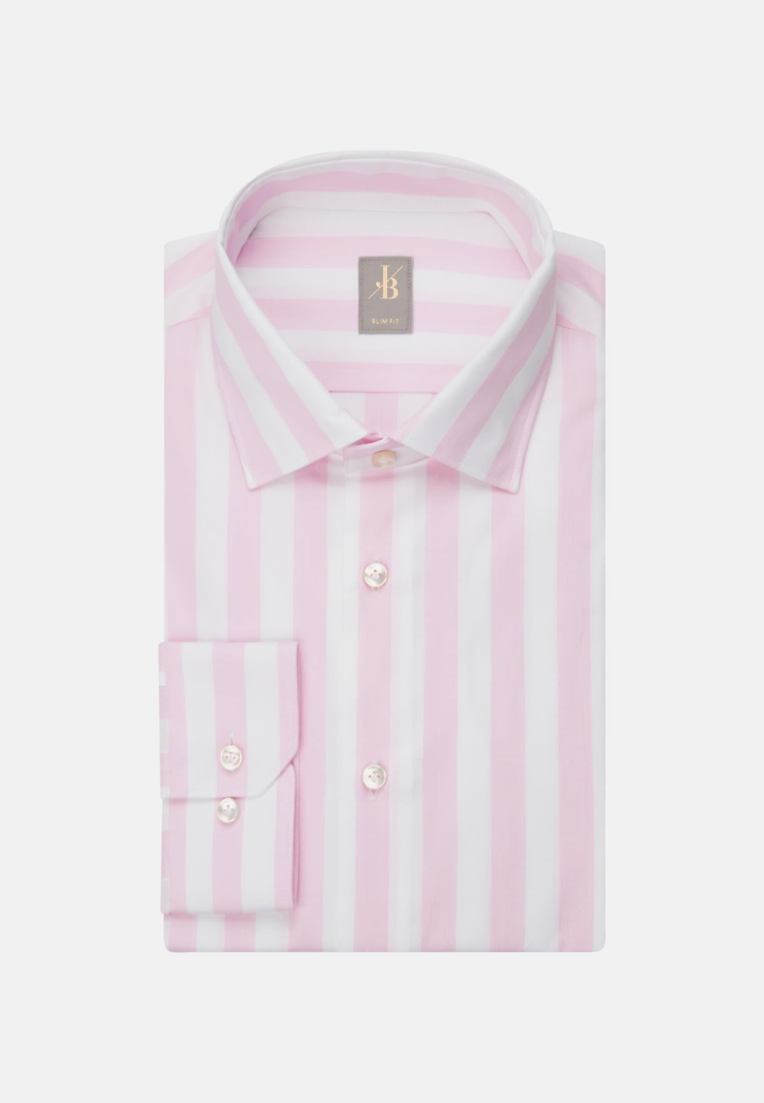Oxford Business Hemd in Slim Fit mit Kentkragen in Rosa/Pink |  Jacques Britt Onlineshop