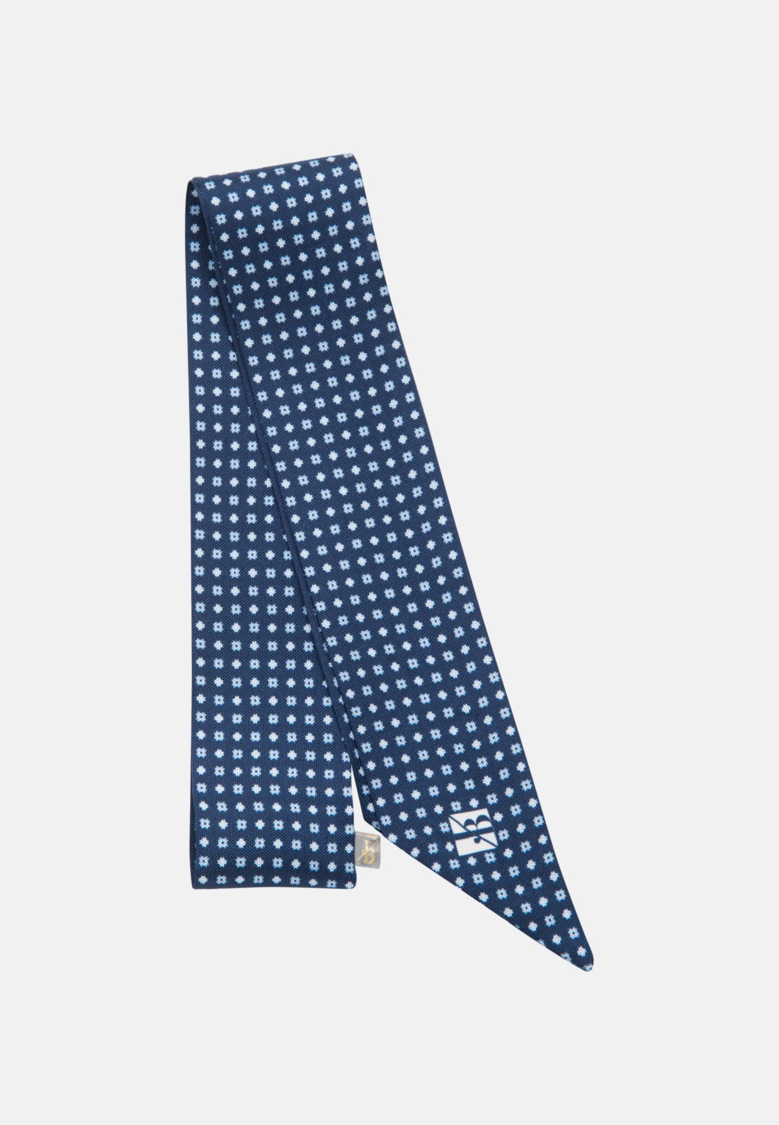 Schal aus 100% Seide in Dunkelblau |  Jacques Britt Onlineshop