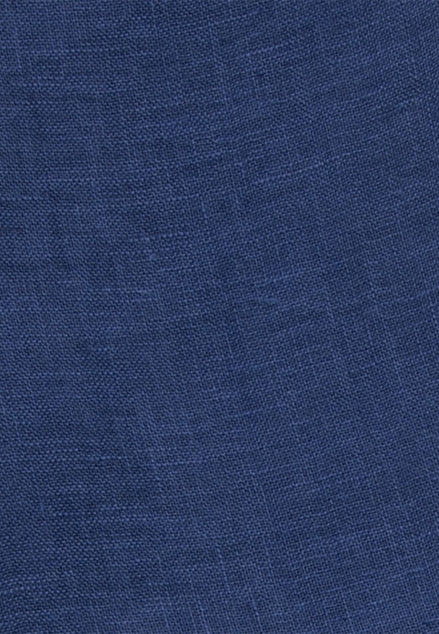 Schal aus 100% Leinen in Dunkelblau |  Jacques Britt Onlineshop