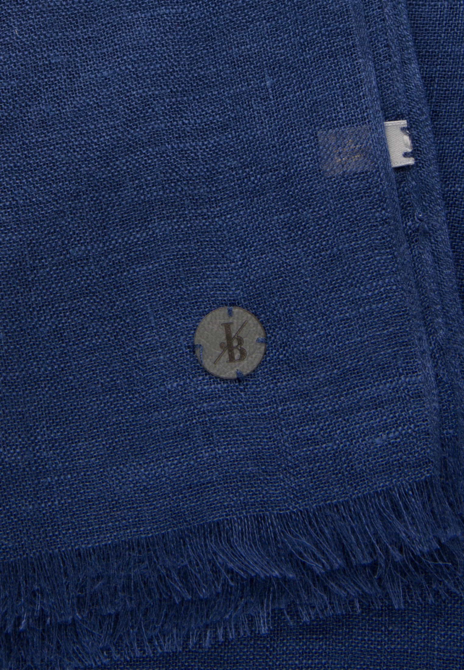 Schal aus 100% Leinen in Dunkelblau    Jacques Britt Onlineshop