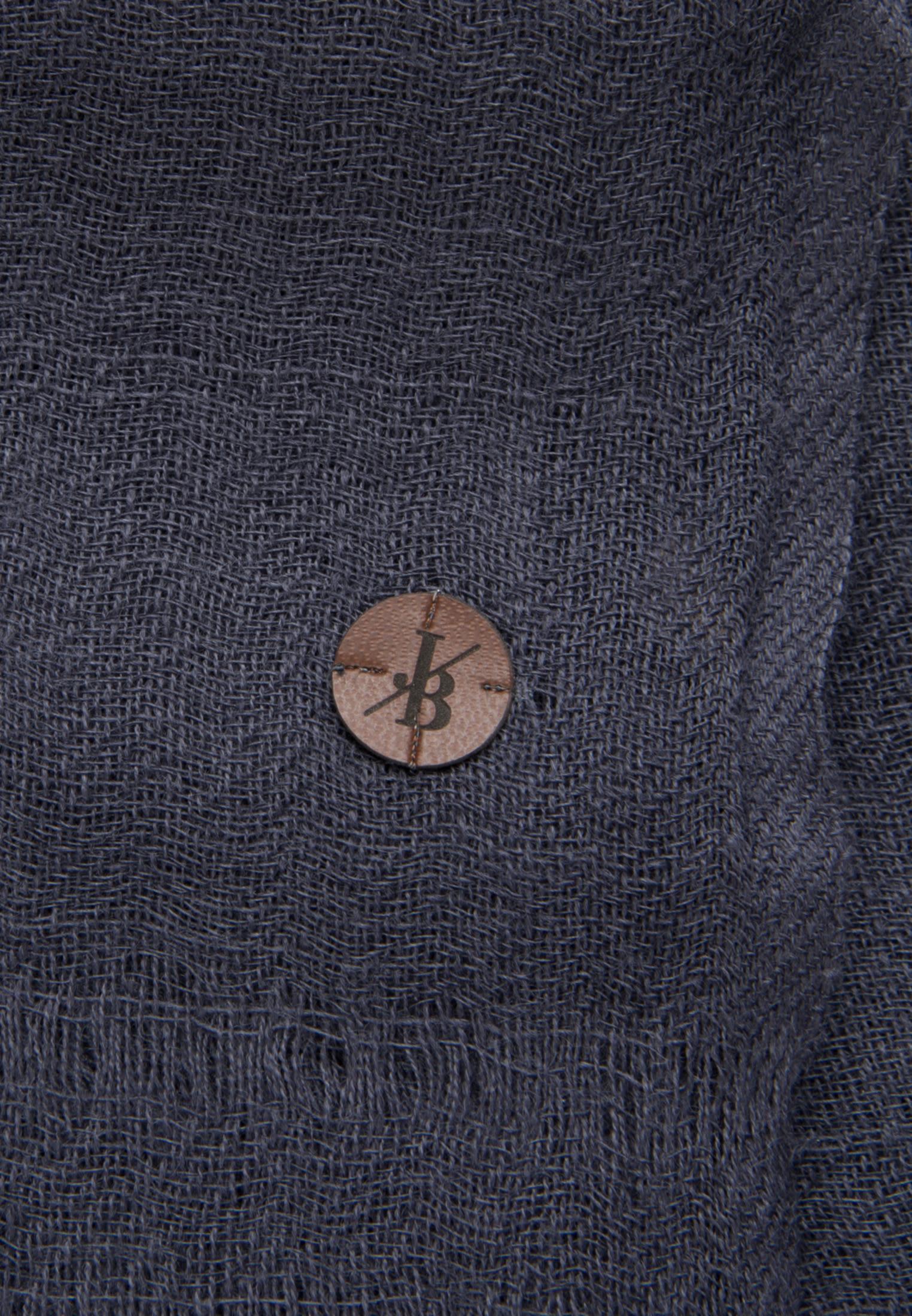 Schal aus 100% Wolle in Dunkelblau |  Jacques Britt Onlineshop