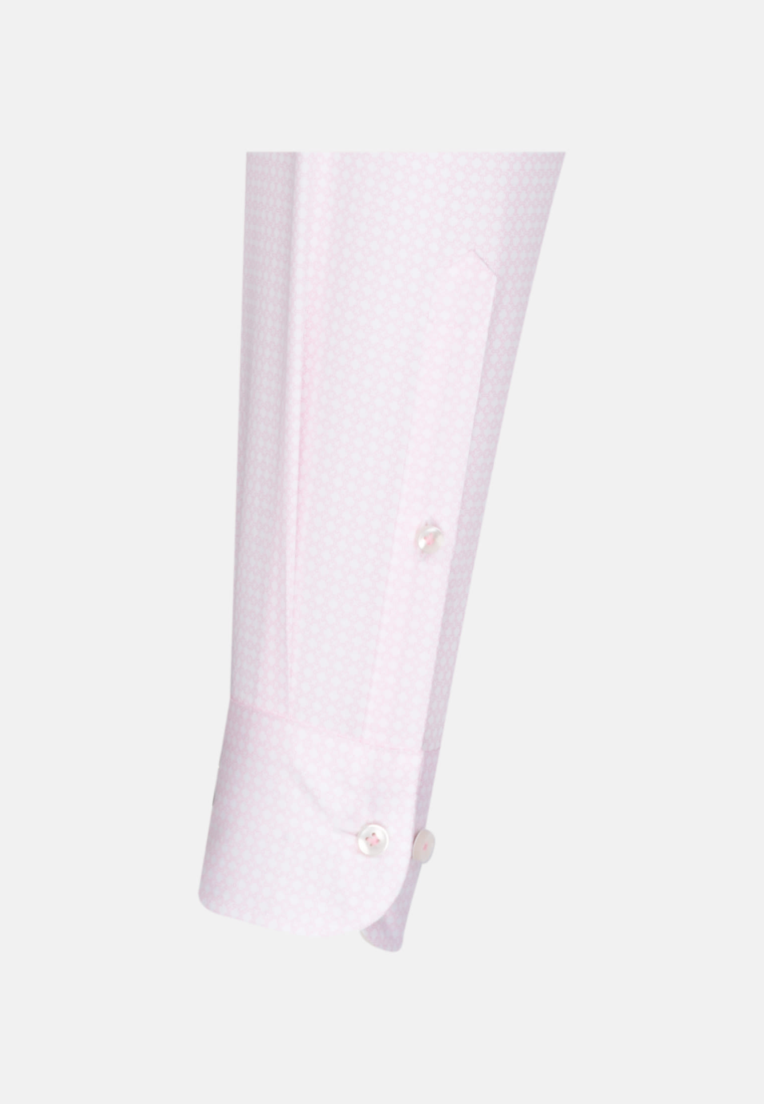 Struktur Business Hemd in Custom Fit mit Under-Button-Down-Kragen in Rosa/Pink |  Jacques Britt Onlineshop