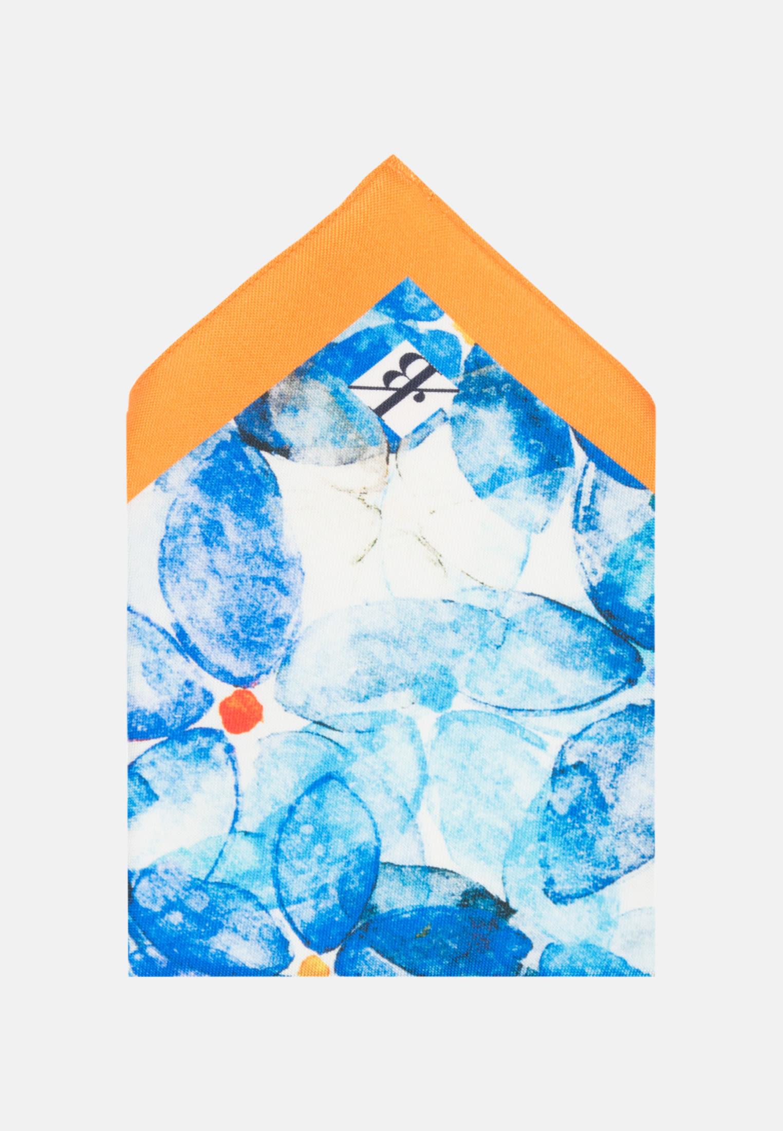 Einstecktuch aus 100% Seide in Hellblau    Jacques Britt Onlineshop