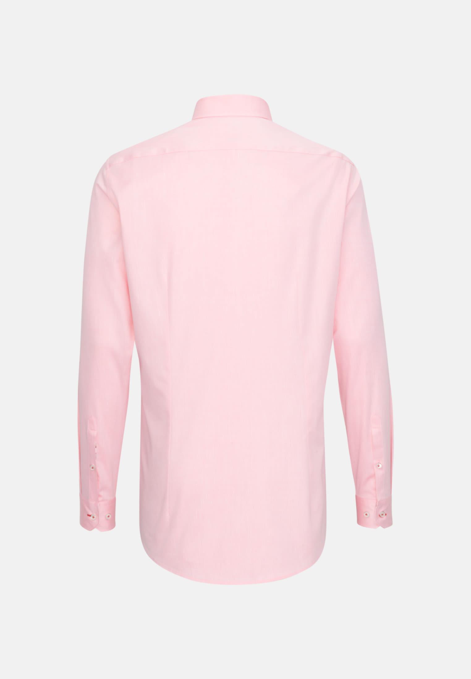 Twill Business Hemd in Custom Fit mit Kentkragen in Gelb |  Jacques Britt Onlineshop