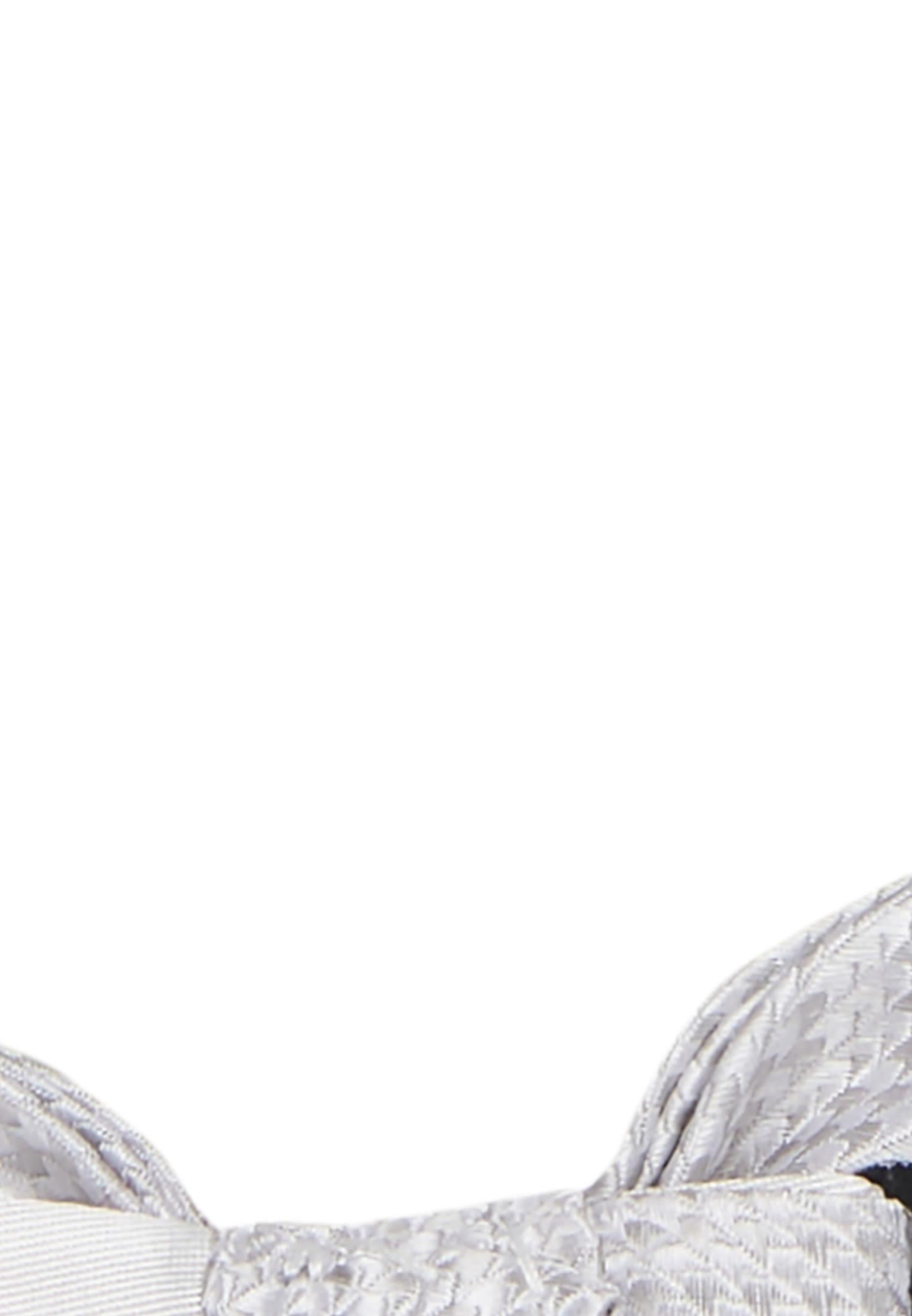 Fliege aus 100% Seide in Grau |  Jacques Britt Onlineshop