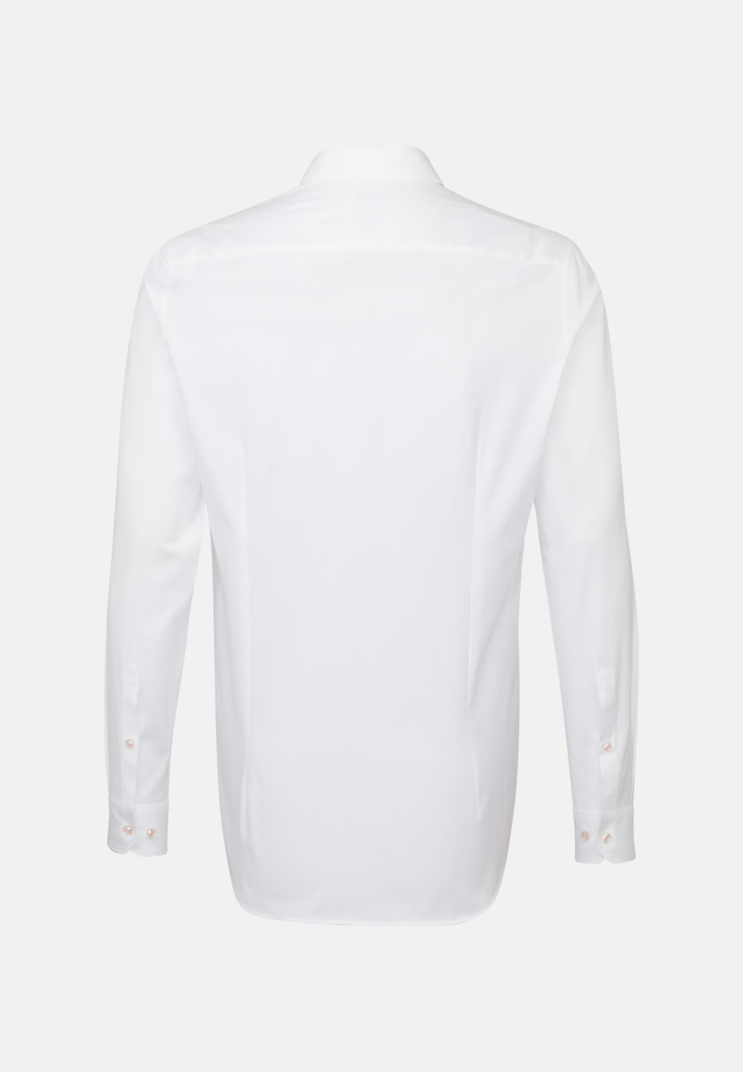 Oxford Business Hemd in Custom Fit mit Kentkragen in Weiß    Jacques Britt Onlineshop
