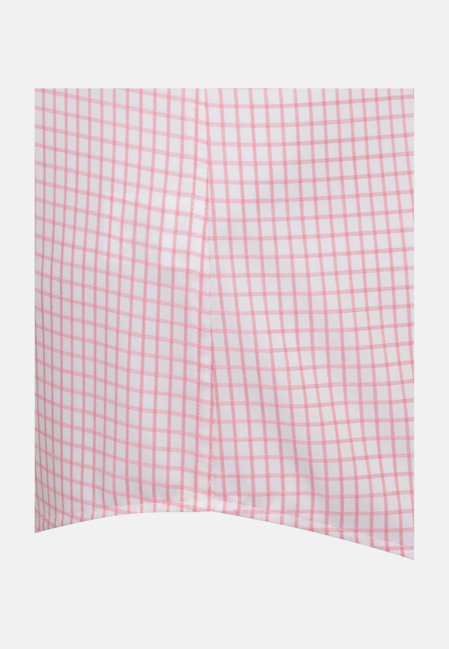Kurzarm Twill Business Hemd in Custom Fit mit Button-Down-Kragen in Orange |  Jacques Britt Onlineshop