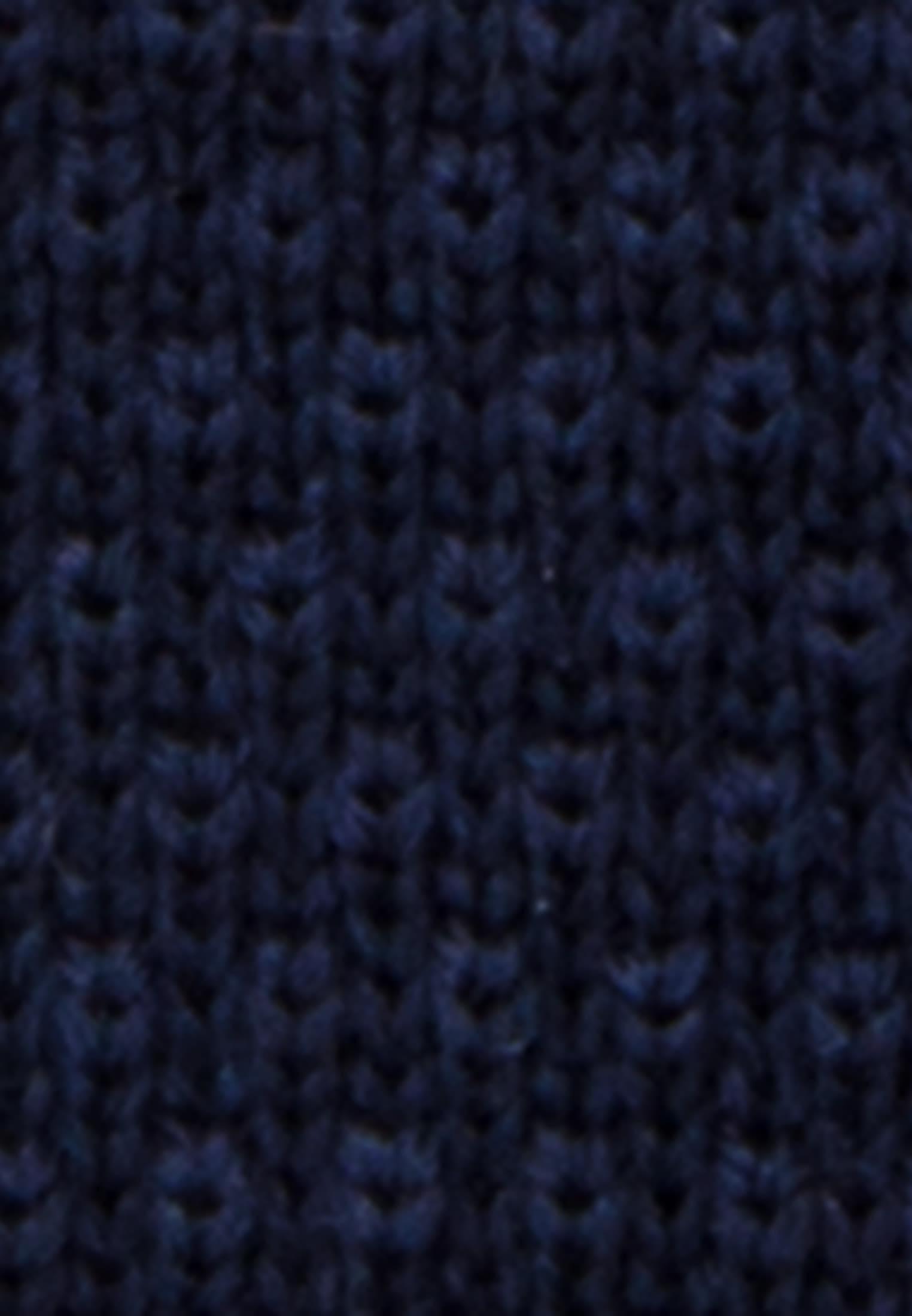 Krawatte aus 100% Wolle 5 cm Breit in Dunkelblau    Jacques Britt Onlineshop