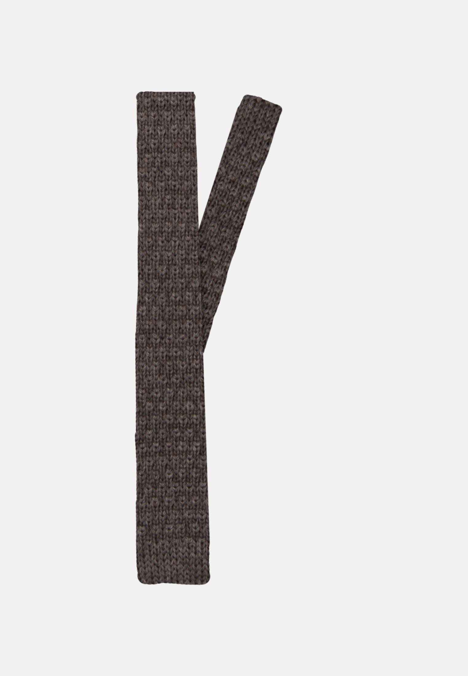 Krawatte aus 100% Wolle 5 cm Breit in Braun |  Jacques Britt Onlineshop