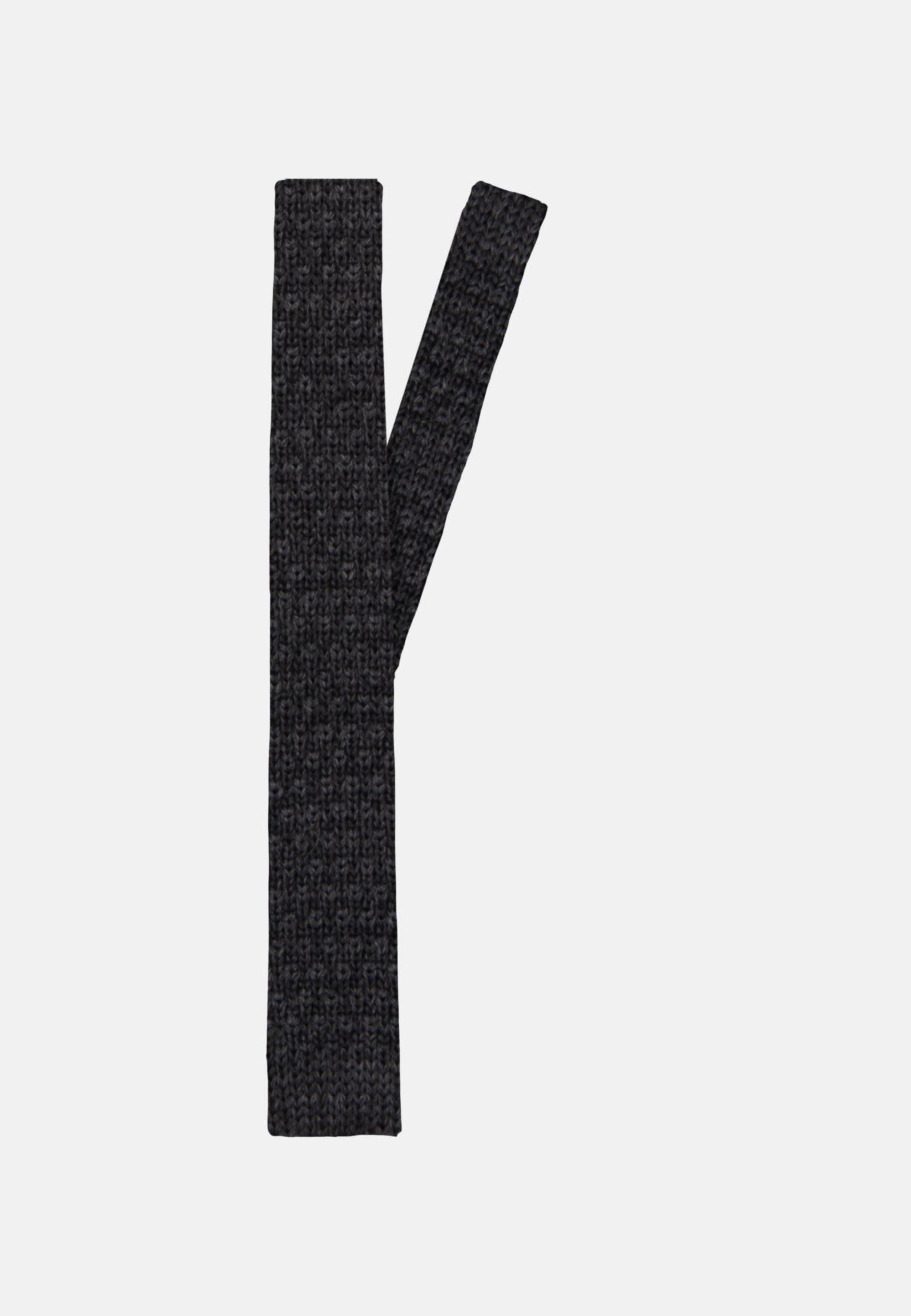 Krawatte aus 100% Wolle 5 cm Breit in Grau |  Jacques Britt Onlineshop