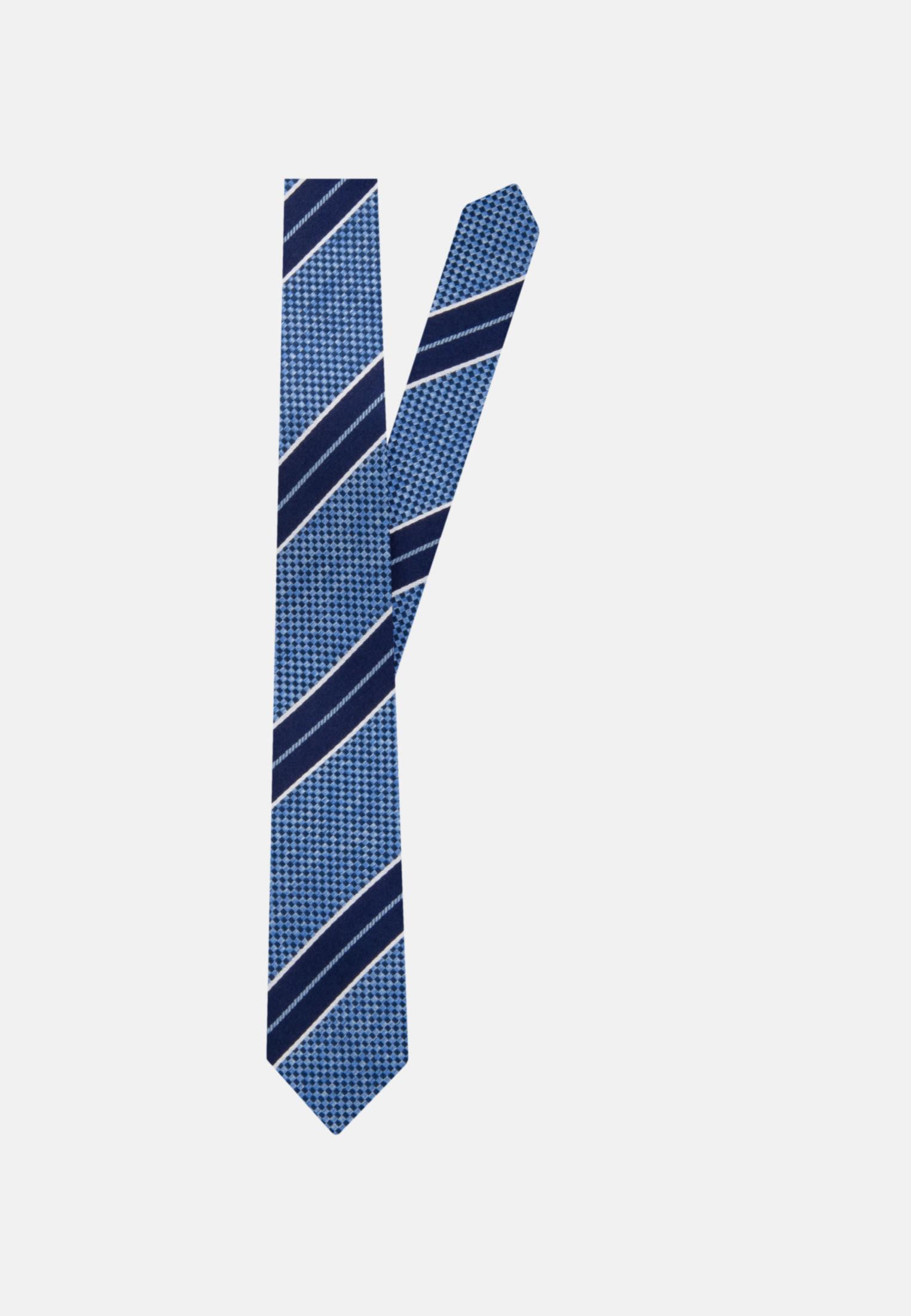 Krawatte aus 100% Seide 7 cm Breit in Dunkelblau |  Jacques Britt Onlineshop