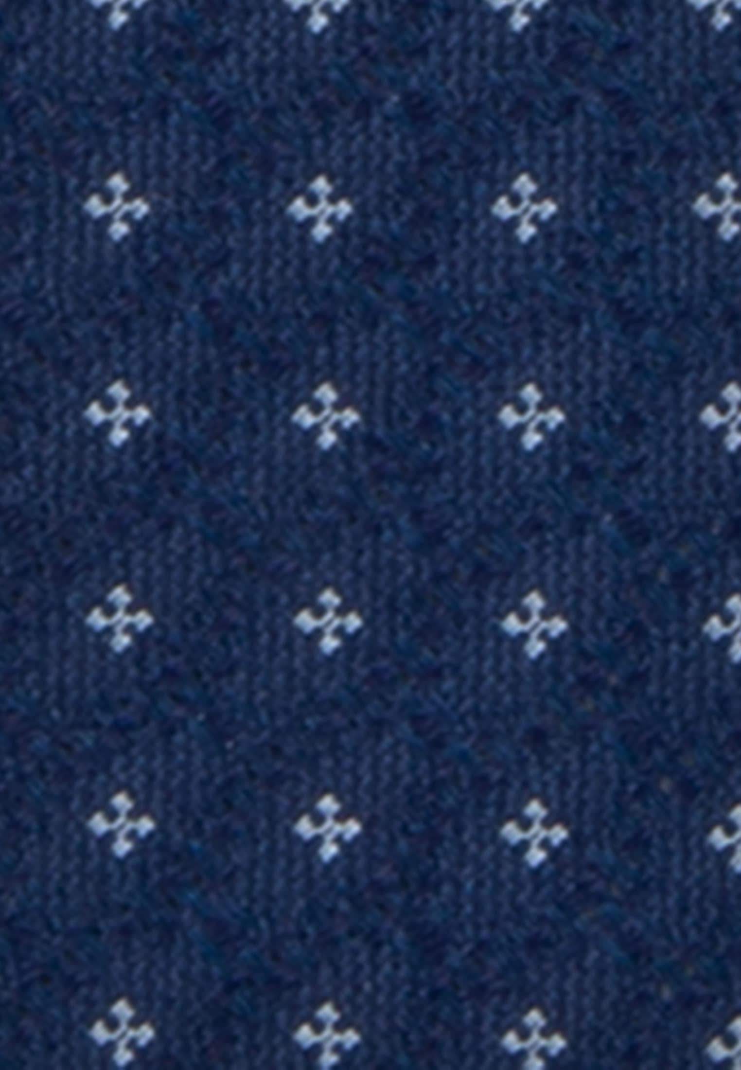 Krawatte aus 100% Seide 7 cm Breit in Dunkelblau    Jacques Britt Onlineshop