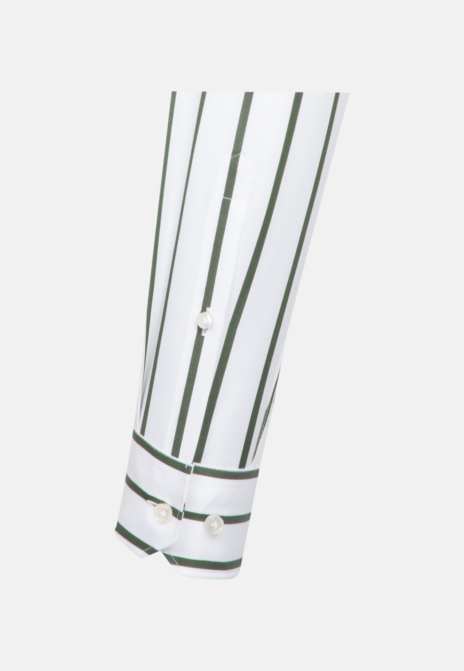 Struktur Business Hemd in Custom Fit mit Kentkragen in Grün    Jacques Britt Onlineshop