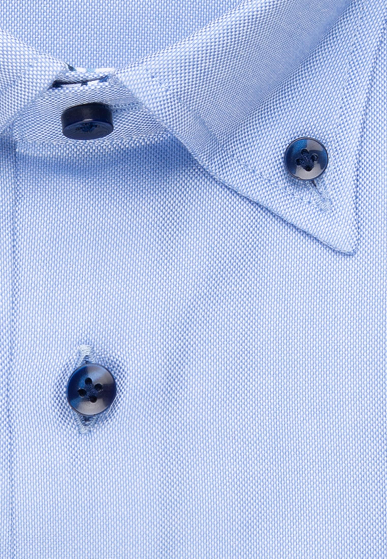 Oxford Business Hemd in Custom Fit mit Button-Down-Kragen in Hellblau    Jacques Britt Onlineshop
