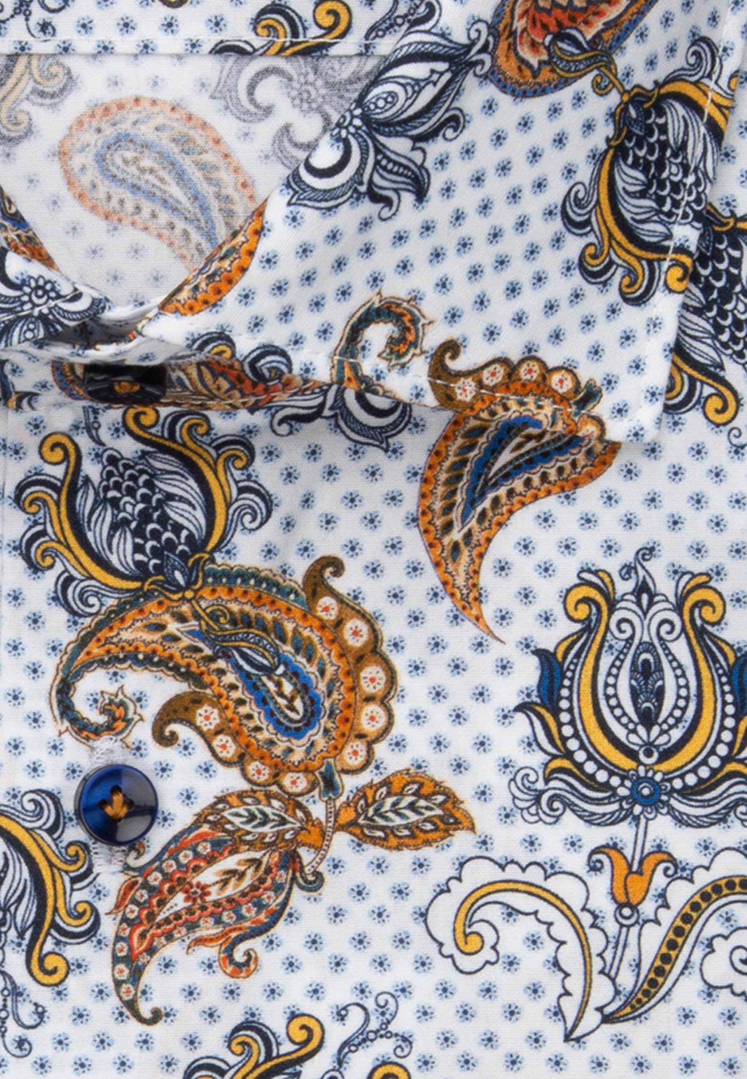 Popeline Business Hemd in Slim Fit mit Kentkragen in Braun |  Jacques Britt Onlineshop