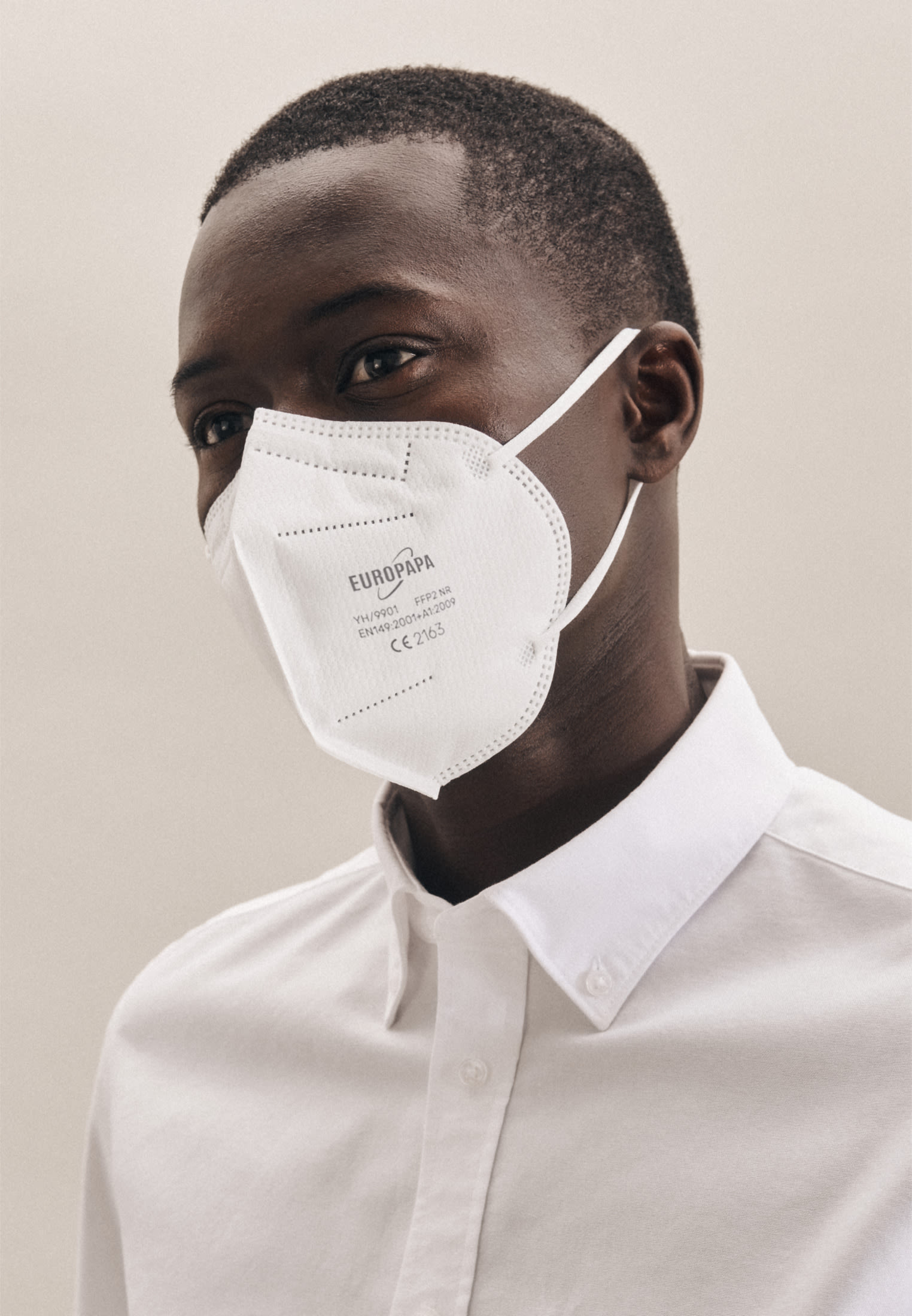 20er-Pack FFP2 Schutzmasken aus 100% Polypropylen in Weiß |  Jacques Britt Onlineshop