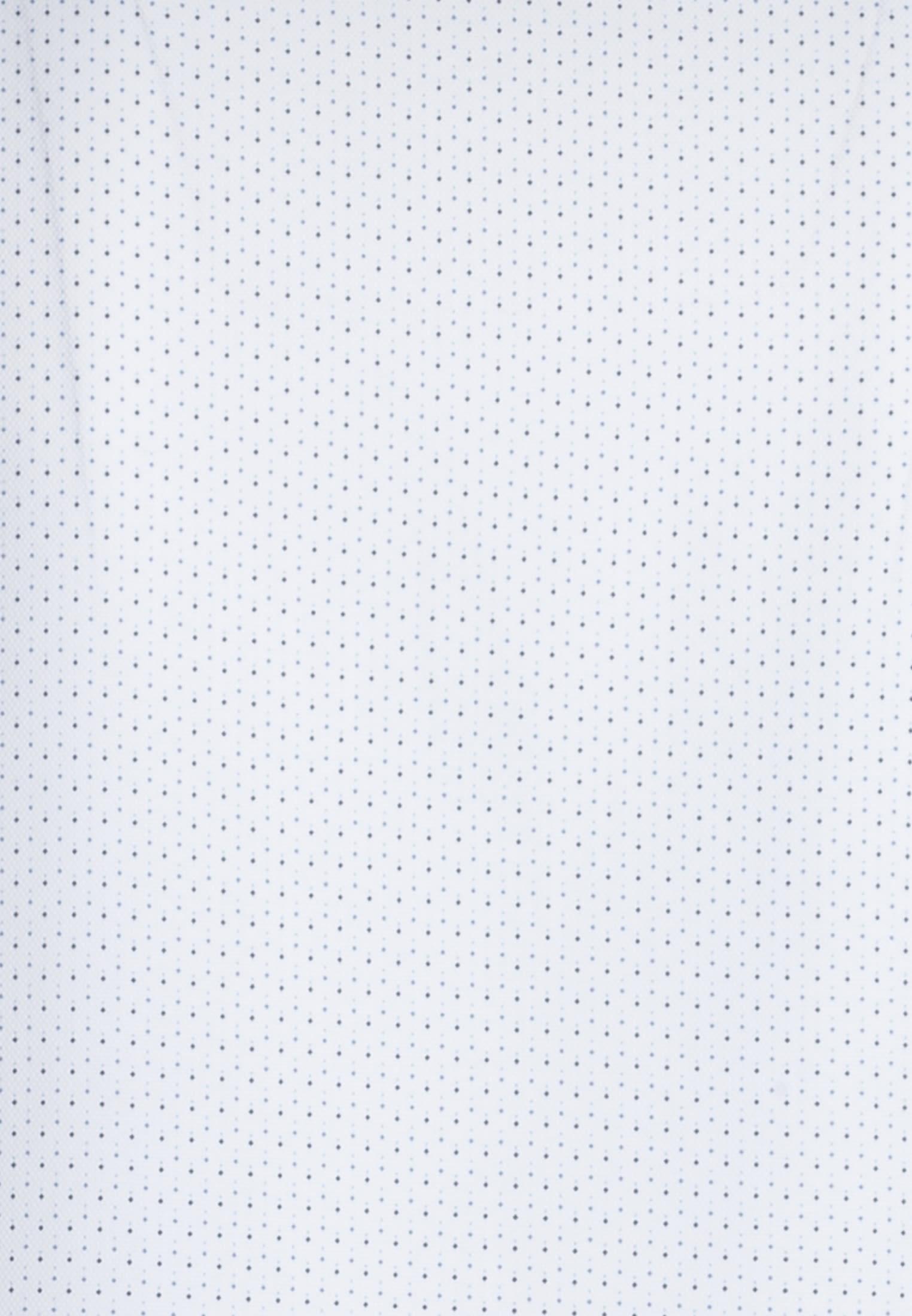 Struktur Business Hemd in Custom Fit mit Kentkragen in Weiß |  Jacques Britt Onlineshop