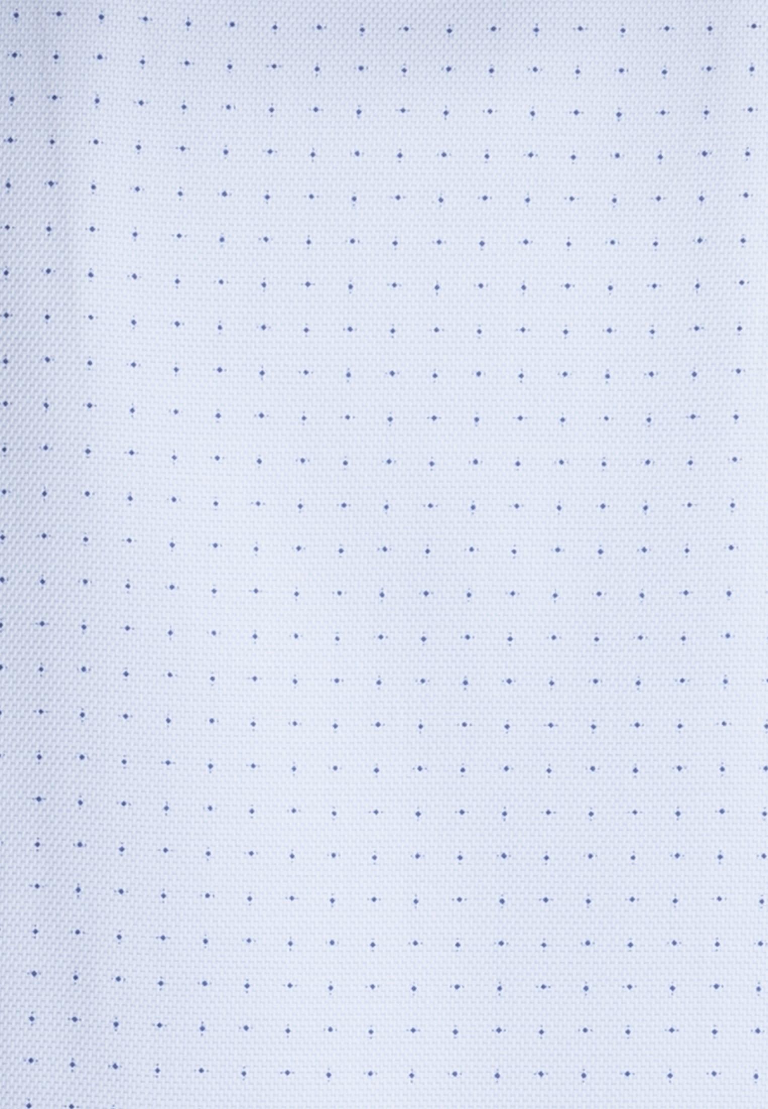 Struktur Business Hemd in Slim Fit mit Kentkragen in Hellblau    Jacques Britt Onlineshop