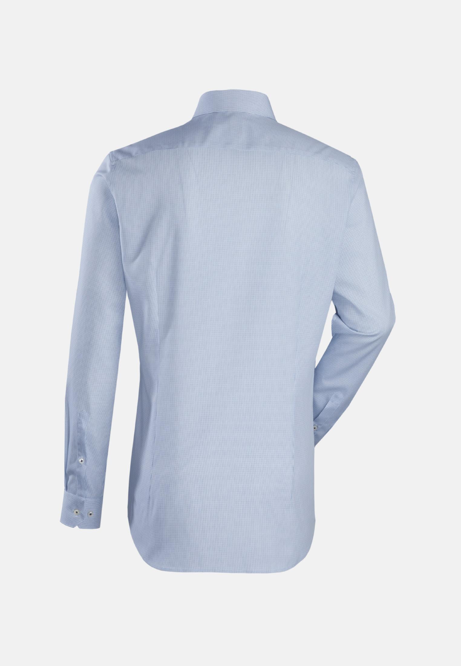 Popeline Business Hemd in Slim Fit mit Kentkragen in Hellblau |  Jacques Britt Onlineshop