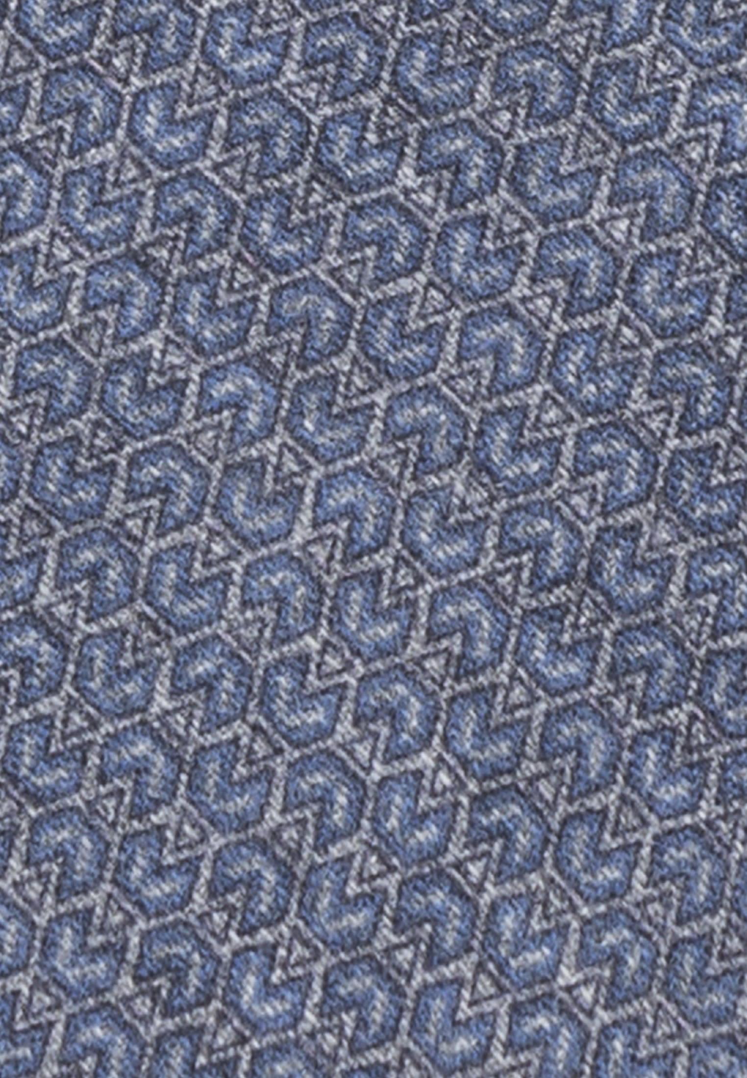 Krawatte aus 7 cm Breit in Mittelblau    Jacques Britt Onlineshop